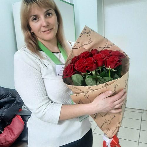 Червоні троянди букет З тобою