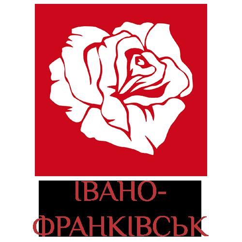 логотип доставки квітів в Івано-Франківську